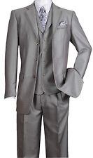 Men's Fashion Suit Lapel Trim Design With Vest and pants 3 Button 5 Colors 5909V