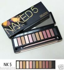 New Fashion Hot 12 color all new neutrals perfect 5# Eye Shadow + brush (10)