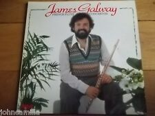 """JAMES GALWAY - FRENCH FLUTE CONCERTOS - 12"""" LP/RECORD - RCA REAL SEAL - RL 25109"""