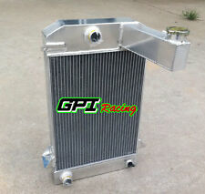 64mm 3 ROW ALUMINUM ALLOY RADIATOR for TRIUMPH TR2/TR3/TR3A/TR3B MT