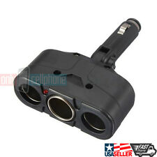 3 Way Socket Splitter Car Cigarette Lighter Charger Adapter 12V for Car & Trucks