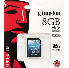 Kingston Ultime SDHC/SDXC 8 GO UHS-I Elite Media Carte (Classe 10) SD10G3/8GB