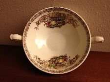 "SUGAR BOWL ""Beverley"" Empire England - Bountiful Harvest - Thanksgiving"