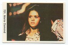 1970s Swedish Pop Star Card #721 American Paper Roses Singer Marie Osmond