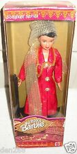 #9168 NRFB Mattel Malayasian Kebaya Barbie in Red Foreign Issue