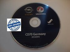 Opel Deutschland Germany CD70 DVD90 navigations disc 2014/2015