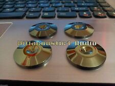 8Pc 25mm Brass Speaker Spike Pad Isolation Stand Feet Hi Fi Floor Base