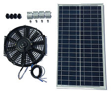 Solar Attic Fan 40 Watt Solar Panel & 12 inch fan