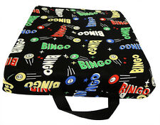 BINGO SEAT COVER; SINGLE CLOTH CUSHION WITH SPACE BALL PRINTT