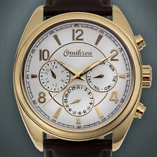 OMIKRON Striker Swiss Multi Function Men's Luxury Dress Watch  No Box