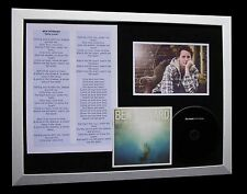 BEN HOWARD Only Love LTD GALLERY QUALITY CD FRAMED DISPLAY+EXPRESS GLOBAL SHIP!!