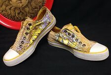 Ed Hardy Women's Sneaker Koi & Mermaid Size 6