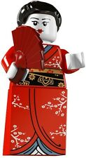 Lego Minifigures 8804 Series 4 Kimono Girl Brand New in factory Sealed Packet
