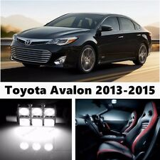 17pcs LED Xenon White  Light Interior Package Kit for Toyota Avalon 2013-2015