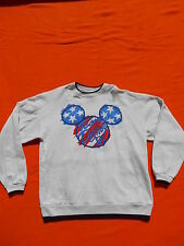 DISNEY Fashions Sweatshirt Team Disney 96 Original Vintage 90s Mickey Mouse XL