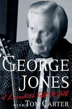 I Lived to Tell It All by George Jones (1996, Hardcover)