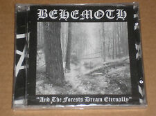 BEHEMOTH - AND THE FORESTS SLEEP ETERNALLY - CD SIGILLATO (SEALED)