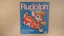 4 Xmas Songs RUDOLPH The Red-Nosed Reindeer Peter Pan Record 45rpm EP 60s