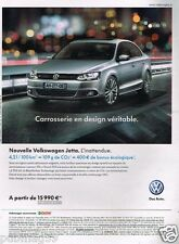 Publicité advertising 2011 VW Volkswagen Jetta