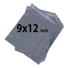 9x12 500X Grey Mailing Bags Strong Poly Postal Postage Post Mail Self Seal UKDC