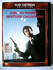 Dvd Cielo di Piombo Ispettore Callaghan - Snapper con Clint Eastwood 1976 Usato