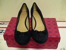 Women's tory burch shoes chelsea 45mm wedge suede size 9.5 us