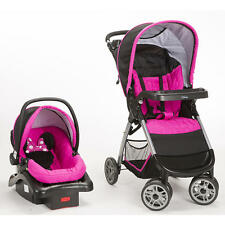 NEW Disney Minnie Mouse Pop Stroller and Car Seat Travel System *FREE SHIPPING*