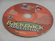 Dora The Explorer Backpack Adventure (Ages 3+) 2002 Win/Mac - Disc Only