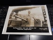 GENUINE WW2 GERMAN PRESS SYNDICATE PHOTOGRAPHS  MARTIME SUBJECT Norway ?