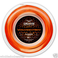 "New! OEHMS ""VOLCANO HEAT"" Co-Polyester Tennissaite, Tennis String, 1,24mm/200m"