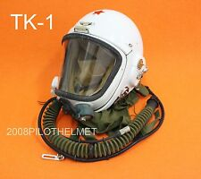 Flight Helmet High Altitude Astronaut Space Pilots Pressured TK-1 1# XXL
