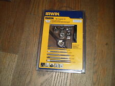 NEW Irwin Hanson 24605 Tap & Die Set 12pc All-Purpose SAE USA MADE