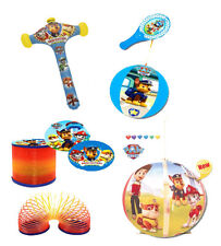 Paw Patrol Inflatable Hammer, Tapball, Megaball, Spring. Only £10.00 for 4 items