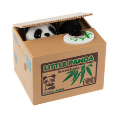 Zoo Bamboo Panda Stealing CoinCollection Money Bank Little Storage Saving Box