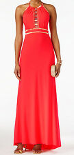 Xscape New Petite Beaded Halter Gown Size 6P #AN 803
