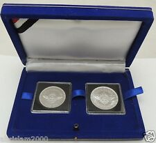 "2014 Egypt مصر  Ägypten silver coins ""Egyptian  Scouting Movement""""set of two"""