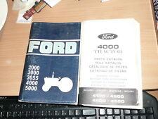 lot de 2 manuels ford pour tracteurs manuel entretien et pieces detachees