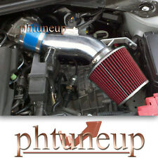 BLUE fit 2007-2012 NISSAN ALTIMA 3.5 3.5L AIR INTAKE KIT SYSTEMS + RED FILTER