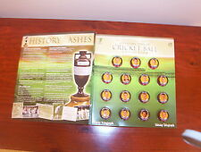 TELEGRAPH NEWSPAPER 2006-07 MINI CRICKET BALL COLLECTION - THE ASHES SERIES