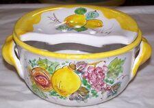 Cola mozzarella in ceramica Vietri arredo tavola idea regalo matrimonio mod 2