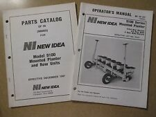 New Idea 9100 planter owners & parts & maintenance manual 4R 6R 8R