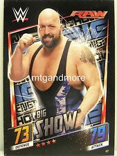 Slam Attax Then Now Forever - #067 Big Show