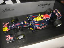 1:18 RED BULL Renault showcar  2011 M. Webber 110110072 MINICHAMPS OVP new