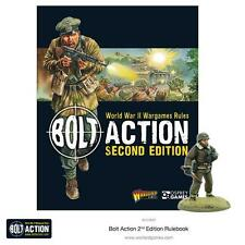 Warlord Games BNIB Bolt Action 2 Rulebook WGB-401010001