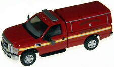 HO RIVER POINT STATION Ford F350 Fire Department with Cap  : 1/87 Model Truck
