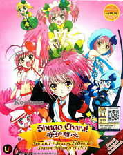 DVD Japan Anime Shugo Chara Complete TV Season 1,2,3 VOL 1-27 End Doki+Party CD*