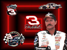 Dale Earnhardt # 11 - 8 x 10 - T Shirt Iron On Transfer