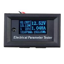 OLED Digital Tester amp Volt Power meter Time Capacity energy Temperature PK0E