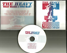 THE HEAVY What Makes a Good man RADIO EDIT & INSTRUMENTAL PROMO DJ CD Single