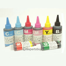 8 Color Compatible Refill Bulk INK Bottles For CANON PRO 9000 MARK II CISS CIS